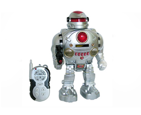 Remote control programming robot