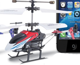 Iphone Control Helicoptor
