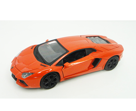 1:32 die-cast licensed pull back scale model with light - Lamborghini Aventador LP700-4