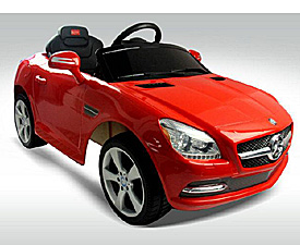 RC/BO Ride-on car - licensed Mercedes SLK CLASS 2010