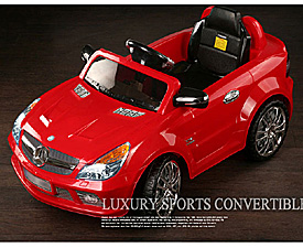 RC/BO Ride-on car - licensed Merceded - SL65 AMG