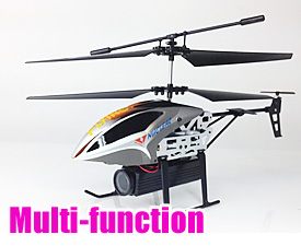 GPTOYS  2.4G 3.5CH DIY Multi-function alloy helciopter with gyro and light