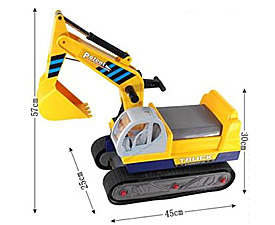 GPTOYS Big Ride-on Car --- crawler Excavator