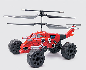 GPTOYS 3.5CH IR control flying shooting vehicle helicopter with lights and gyro