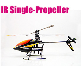 GPTOYS IR control 2.5CH Single-Propeller helicopter with automatic cruise