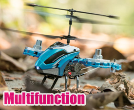 GPTOYS 3.5CH to 4.5CH IR Multifunction CYCLONE helicopter with gyro