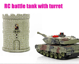 GPTOYS  RC battle tank with turret