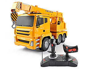 GPTOYS 1:18 5CH RC Crane truck with lights and auto-show function