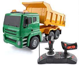 GPTOYS  1:18 5CH RC truck with lights and auto-show function