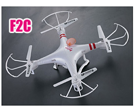 GPTOYS 2.4G F2 Aviax quadcopter with HD camera, LCD screen controller, headless  control system