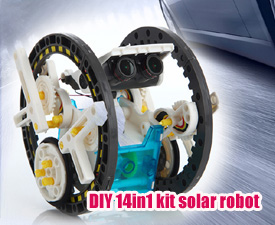 GPTOYS DIY 14in1 kit solar robot