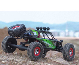 GPTOYS 2.4G 1:12 full scale 4WD high speed cross-country truck with servo and ESC