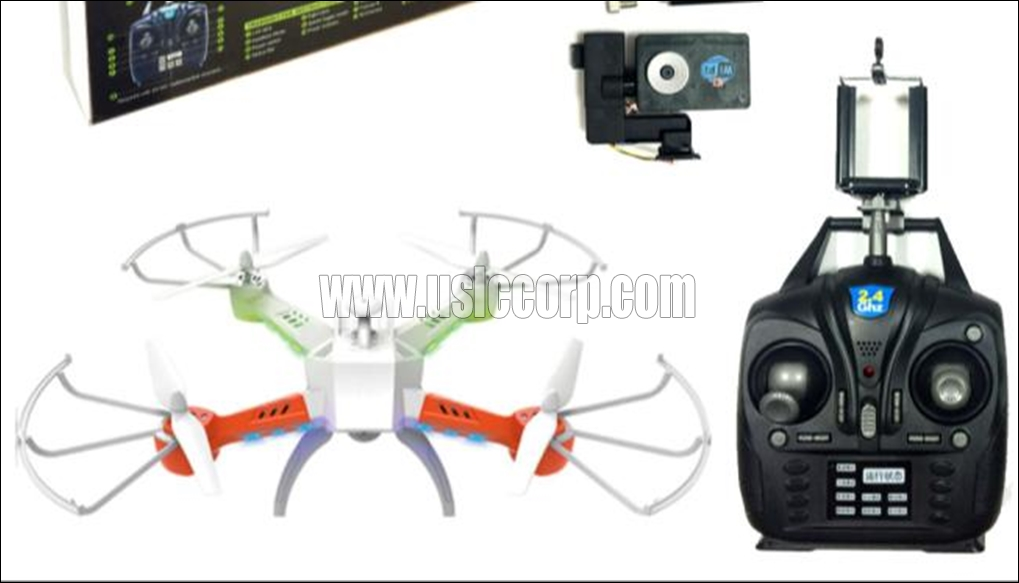 GPTOYS 2.4G WIFI real-time transmission quadcopter with 6-axis gyro