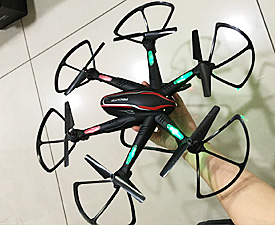 GPTOYS 2.4G 42cm big size 6 axles quadcopter