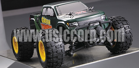 GPTOYS 2.4G 1:24 4WD full proportional waterproof  off-road racing truck