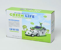 GPTOYS GREEN LIVING SOLAR CAR (SELF LOADING TYPE TOYS)