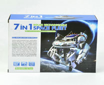 GPTOYS THE NEW SEVEN IN ONE SOLAR SPACE FLEET (SELF LOADING TYPE TOYS)