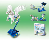 GPTOYS 3 IN 1 SOLAR PEGASUS CHARIOT (SELF LOADING TYPE TOYS)